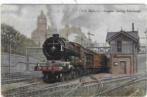 # Edinburgh, Train Station N.B. Railway Great Britain