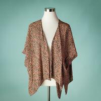Brandy Melville John Galt Kimono Top Jacket Floral Boho Short Sleeve One Size