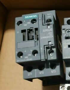 Siemens Sirius 3RT2023-1FB40 contactor 4kW 24V DC coil w diode 1NO+1NC