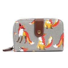 Ladies Women Designer Oilcloth Large Purse Wallet Girls Coin Purse Handbag Bag