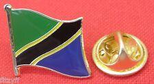 Tanzania Flag Lapel Hat Cap Tie Pin Badge Jamhuri ya Muungano wa Tanzania Brooch