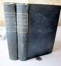 2Vol,THE WORKS Of CHARLES LAMB,Plus LIFE & LETTERS,1838,Thomas N.Talfourd,1stEd