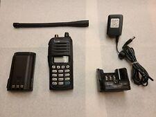 Com Ic-A14 Vhf Air Band Transceiver Portable Aviation Radio.