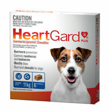 Heartgard Plus Chewables for Small Dogs - 6 Pack