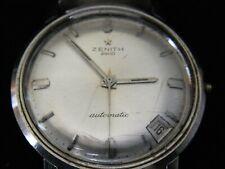 Zenith 2600 Armbanduhr Schweiz 70er Jahre Automatic Datum