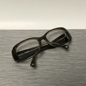 Coach Glasses Frames Bronwen S829 Amber Horn 54-18-125mm Tortoise