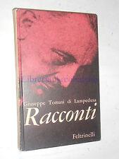 GIUSEPPE TOMASI DI LAMPEDUSA - RACCONTI - FELTRINELLI, 1961, PRIMA EDIZIONE
