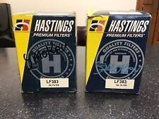 2 Quantity Engine Oil Filter Hastings Lf383-1983-1986 Ford(Fits: Lynx)
