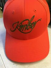 NEW Kimber Hat Trucker Embroidered Orange----Worldwide ship