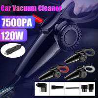 Car Vacuum Cleaner 12V 120W For Auto Mini Portable Wet & Dry Handheld Duster
