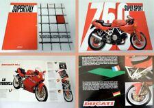 Ducati 900 SS, 750 SS Motorrad 2 Prospekte