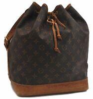 Authentic Louis Vuitton Monogram Noe Shoulder Bag M42224 LV C1183