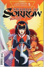 SWORDS OF SORROW #1 Valkyries Variant Cover 2015 Dynamite RARE! See Description