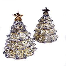 Christmas Tree Salt Pepper Shakers Godinger Presentation Box