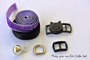DIY Cat collar hardware kit 2 styles