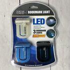 3 LED Bookmark Light Think tank Technology Set Of Three Purse Lights Bookmarks