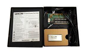 Luxon Video AC9ULB Ul Alimentation Électrique - 9 Canal 24 VAC 4 Amp