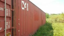 40 shipping container storage container conex box in Baltimore, Maryland