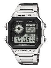 Casio digital señores reloj ae-1200whd -1 avef nuevo & OVP
