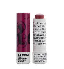 Korres Mandarin Lip Butter Stick Purple Spf15
