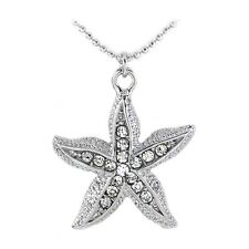 Clear Starfish Sea Animal Pet Charm Anklet Fashion Jewelry for Girls Women