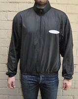 Sugoi Black Zip Cycling Jacket L