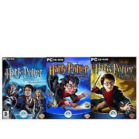 Harry Potter Triple Pack EA Games PC Windows 2005 JK Rowling Wizard New Sealed