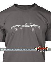 Chevrolet Corvette 1969 Coupe Men T-Shirt - Multiple Colors Sizes - Classic Car