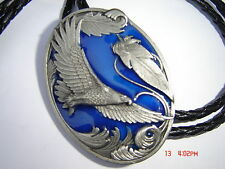 Eagle in flight bolo Bootlace tie stage wear rock and roll country and western.