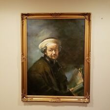 Self Portrait as the Apostle St Paul aged 55 Rembrandt oil painting reproduction