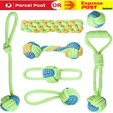 7X Dog Rope Toys Tough Strong Chew Knot Knotted Pet Puppy Healthy Teeth Bear