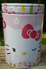 HELLO KITTY METAL COIN SAVINGS BANK PENCIL PEN HOLDER