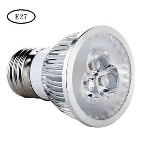 395nm 3W E27/GU10/MR16 UV  Purple LED Spot Light Bulb Lamp AC85-265V/12v