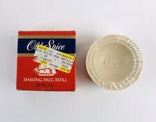 VTG Shulton OLD SPICE Shaving Mug 3 oz. Soap Refill USA NEW NOS SEALED