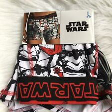 Disney star wars men's underwear L boxer briefs christmas holiday storm trooper