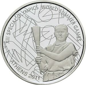 Savoca Coins Griechenland 10 Euro 2011 Special Olympics Sommer Games=RRD66033