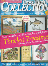 CROSS STITCH COLLECTION MAGAZINE # 54 - MONETS POPPIES - CARRICKFERGUS - COASTER
