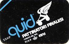 """ADESIVO/STICKER * S.S.H.P. quid """" PATTINATORI FINALESI fondata nel 1955 *"""