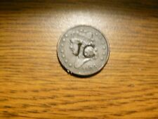 1833 counter stamped half cent- classic head