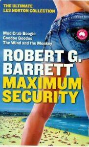 MAXIMUM SECURITY * 3 LES NORTON BOOKS IN 1 * ROBERT G, BARRETT