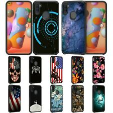 For Samsung Galaxy A11 Hybrid Dual Layer Fitted Protective Slim Case