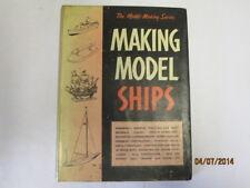 Good - MAKING MODEL SHIPS - 0 1959-01-01   WARD LOCK
