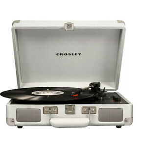 Crosley Deluxe 3-Speed Record Player Stereo Turntable Bluetooth Portable Speaker