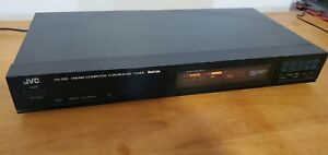 Vintage JVC FX-33BK AM/FM Stereo Tuner computer controlled. Perfect condition.