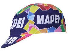Santini Mapei Retro Pro Team Cycling Cotton Cap Hat Classic