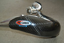 DEP Exhaust Expansion Pipe & Pro Carbon Guard YAMAHA DT125X DT125 X RE 2004-ON