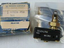 HONEYWELL MICRO SWITCH BZ-2RQ785 SNAP ACTION LIMIT SWITCH, 15 AMP, PLUNGER
