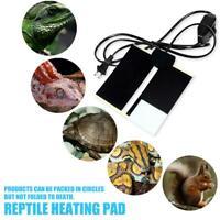 5W/14W/20W Waterproof Heat Mat Reptile Brooder Incubator Heating Pad Warm Heater