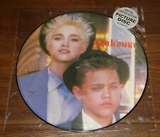 """MADONNA OPEN YOUR HEART UK 12"""" PICTURE DISC 1983 WITH ORIGINAL STICKERED SLEEVE"""