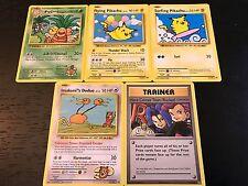 Pokemon: Evolutions Complete 5-Card Secret Rare Set - Flying Surfing Pikachu +